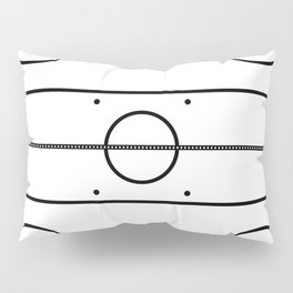 Ice Hockey Rink Pillow Sham