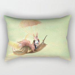 Cedric and the Golden Snail Rectangular Pillow