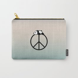 Peace and panda Carry-All Pouch
