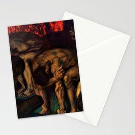 Franz von Stuck - Inferno - Digital Remastered Edition Stationery Cards