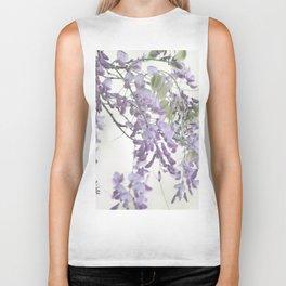 Wisteria Lavender Biker Tank