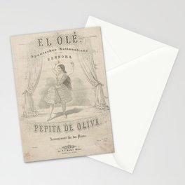 Duran y Ortega Josefa El oleAdditional Unidentified dance Stationery Cards