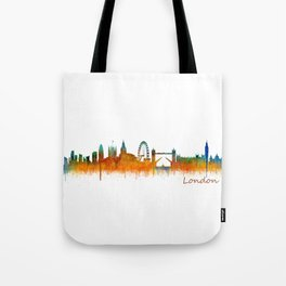 London City Skyline HQ v3 Tote Bag