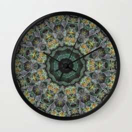 Strawberry Cough Circles Wall Clock