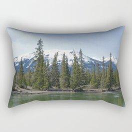 The Serene Mountain Rectangular Pillow