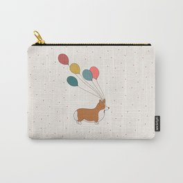 HAPPY NEW YEAR CORGI Carry-All Pouch