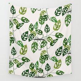 Monstera obliqua interior plant Wall Tapestry