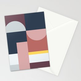 Abstract Geometric 05 Stationery Cards