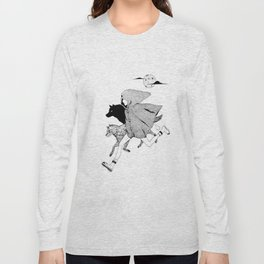 RUNNING WITH WOLVES Long Sleeve T-shirt