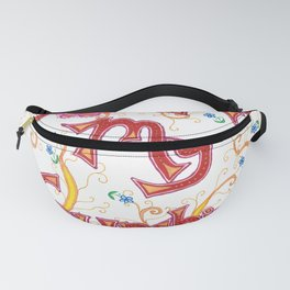 You Are My Sunshine, Flowers Fanny Pack