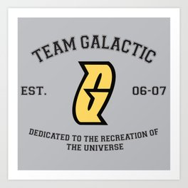 Team Galactic Art Print