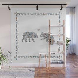 Bears by Love Rocks Me Wall Mural