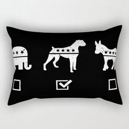 VOTE BOXER Rectangular Pillow
