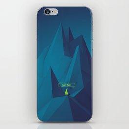 • Save me • iPhone Skin