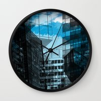 urban Wall Clocks featuring Urban by Marian - Claudiu Bortan