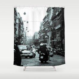 Naples, Spanish Quarter 1 Shower Curtain