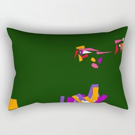 Fragmentation 3 Rectangular Pillow