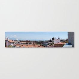 Naples city view Canvas Print