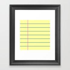 biljeska Framed Art Print