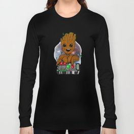 Dont PushGroot Long Sleeve T-shirt