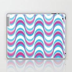 Purple Waves Laptop & iPad Skin