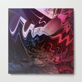 Anger management - An abstract mood illustration Metal Print