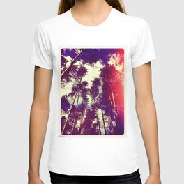 There is a pleasure in the pathless woods... T-shirt