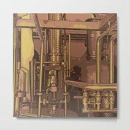 Distillery Metal Print