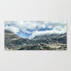 Ridge of mountains Canvas Print