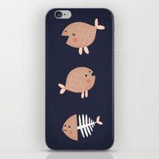 fish emotions. iPhone & iPod Skin