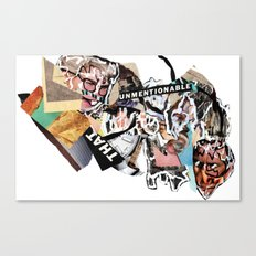 unmentionable Canvas Print