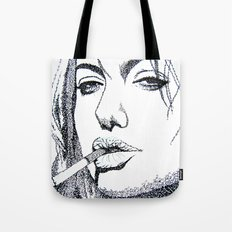 Angelina Jolie Tote Bag