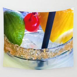 Summer Squeeze Wall Tapestry
