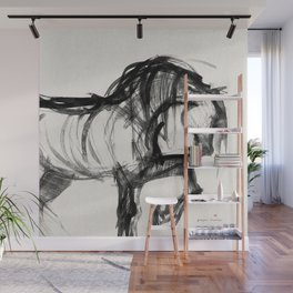 Horse (Saklavi Portrait) Wall Mural
