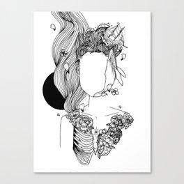 Let a whale out Canvas Print
