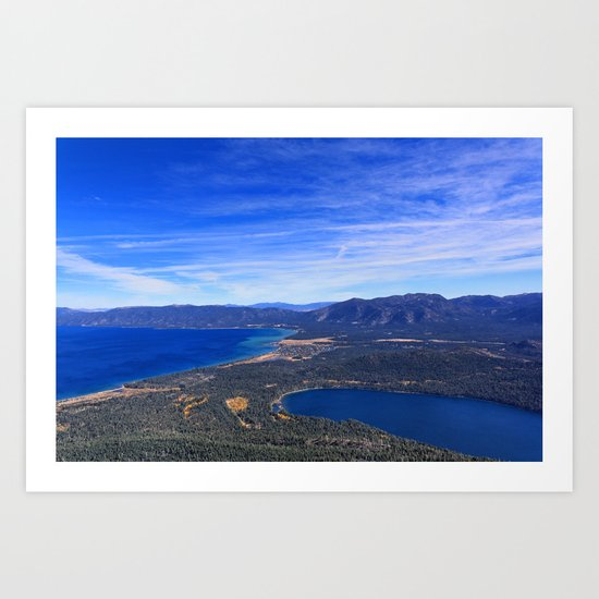 South Lake Tahoe Art Print