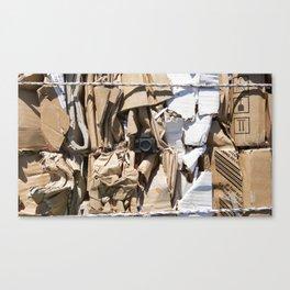 Compacted cardboard & Tiny Tiny Camera Canvas Print