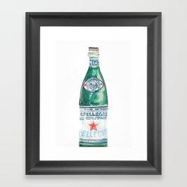Sparkling H20 Framed Art Print