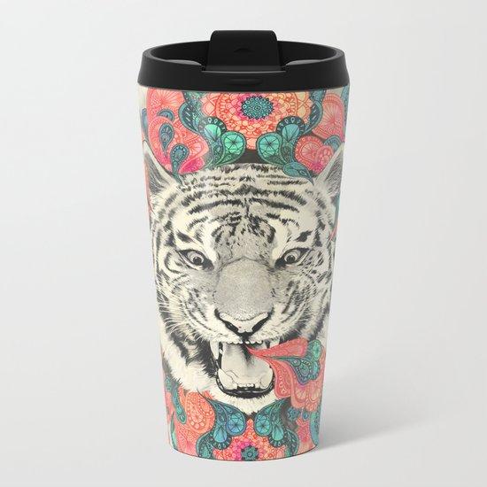 bengal mandala Metal Travel Mug