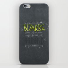 Breakfast Club: We're All Pretty Bizarre iPhone & iPod Skin