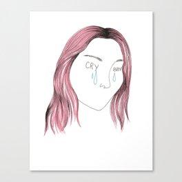 x Cry x Baby x Canvas Print