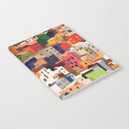Mexico historical town cityscape (Guanajuato) Notebook