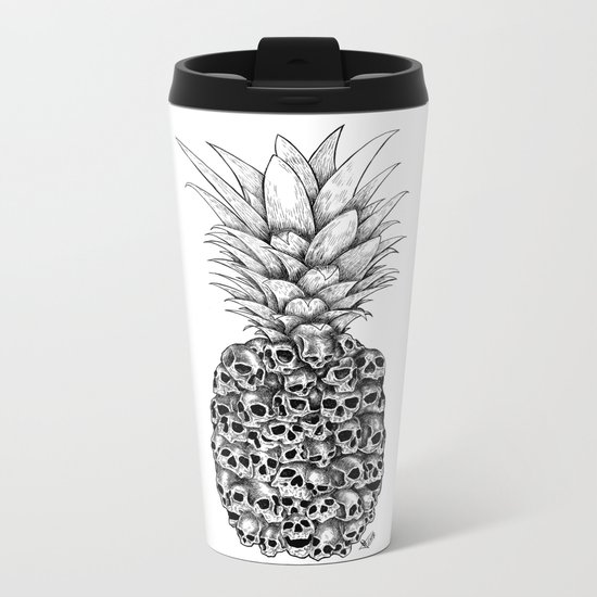 Tropical Death Metal Travel Mug