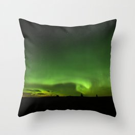 Natures Night Lights. Throw Pillow