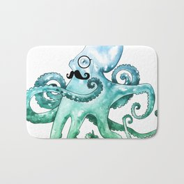 Dapper Octopus Bath Mat