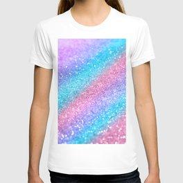 Rainbow Princess Glitter #2 #shiny #decor #art #society6 T-shirt