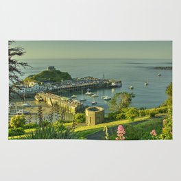 Ilfracombe Harbour Summer Rug