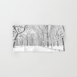 New York City Snow Hand & Bath Towel