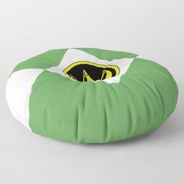 MMPR Green Coin Floor Pillow