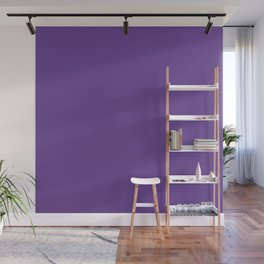 Deep Ultra Violet 2018 Fall Winter Color Trends Wall Mural